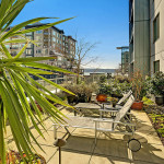 Corner 2BR/1.75BA Condominium Home with Rare 450 Sq Ft Private Terrace at Belltown's The Parc! Sold! 76 Cedar St #708, Seattle, WA 98121